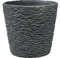 Masca pentru ghiveci Dayton, Ø 12 cm, H 10 cm, negru