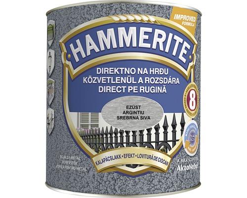 Email pentru metal Hammerite lovitură de ciocan, argintiu 2,5 l