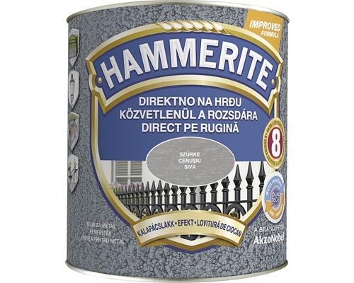 Email pentru metal Hammerite lovitura de ciocan, gri 2,5 l