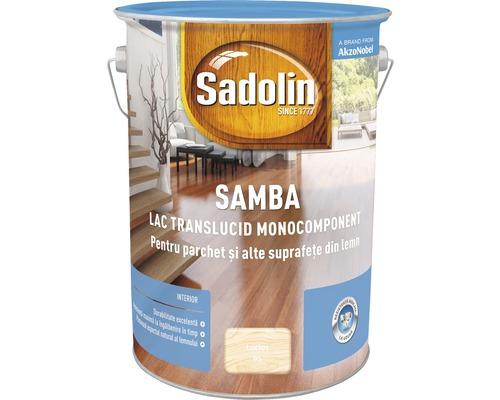 Lac pentru parchet Sadolin Samba lucios 5 l
