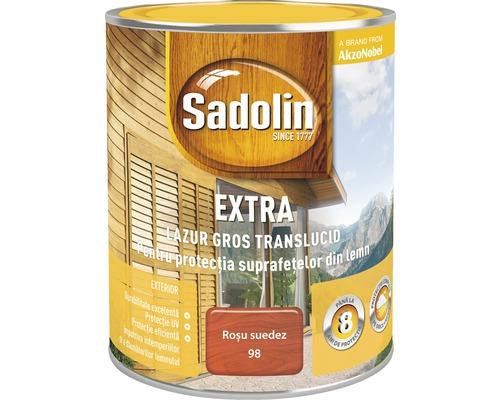 Lazura pentru lemn Sadolin Extra rosu suedez 0,75 l