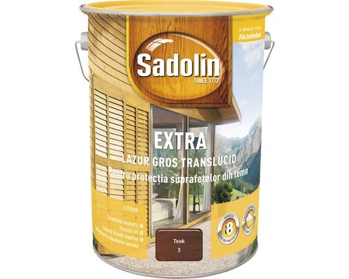 Lazura pentru lemn Sadolin Extra teak 5 l
