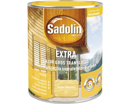 Lazura pentru lemn Sadolin Extra stejar deschis 0,75 l