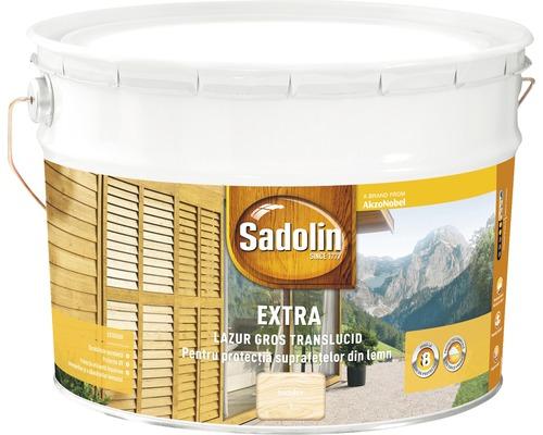 Lazura pentru lemn Sadolin Extra incolor 10 l