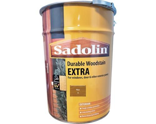 Lazura pentru lemn Sadolin Extra nuc 19 l