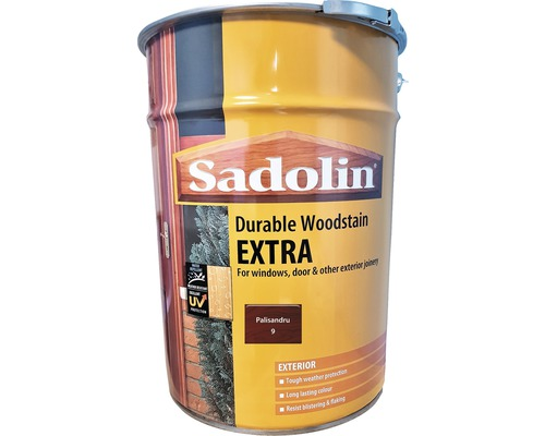 Lazura pentru lemn Sadolin Extra palisandru 19 l