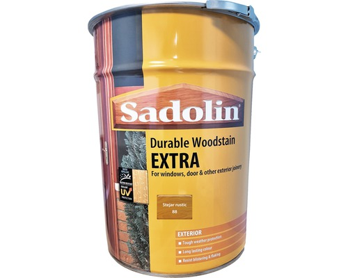 Lazura pentru lemn Sadolin Extra stejar rustic 19 l