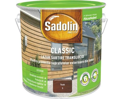 Lazura pentru lemn Sadolin Classic teak 2,5 l