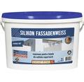 Vopsea lavabila pentru exterior pe baza de silicon alba 5 l