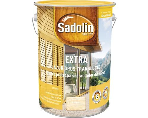 Lazura pentru lemn Sadolin Extra incolor 5 l