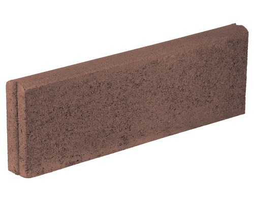 Bordura B10 rosu 25x7x100 cm