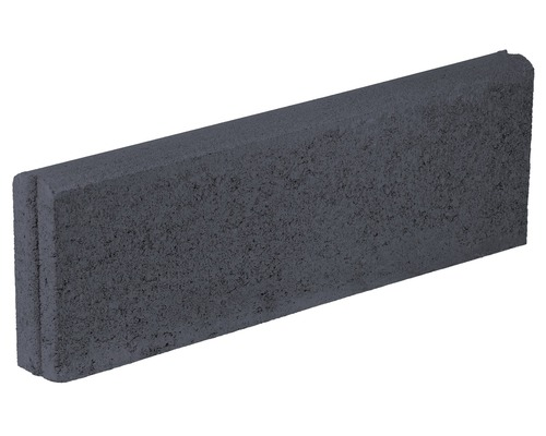 Bordura B10 antracit 25x7x100 cm