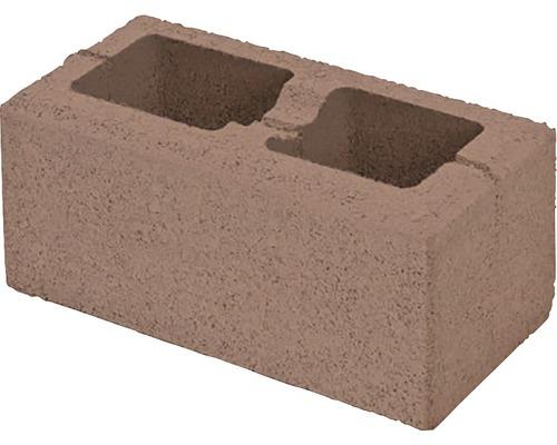 Bloc de zidarie Semmelrock Rivago pentru gard 40x20x16 cm maro