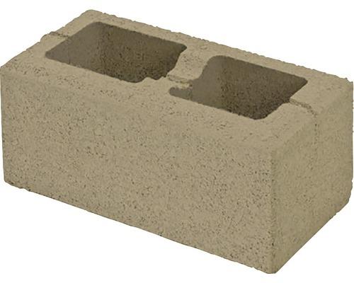 Bloc de zidarie Semmelrock Rivago pentru gard 40x20x16 cm bej