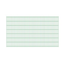 Panou gard dublu zincat 2510 x 1630 mm, verde