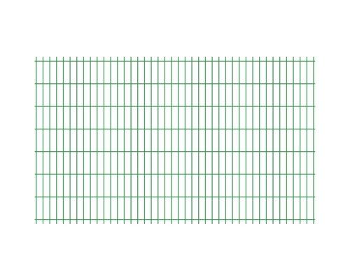 Panou gard 2D zincat 1230x2510 mm, 5/4,5/5 mm verde