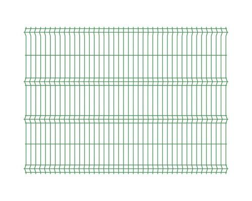 Panou gard 3D bordurat zincat 2500x1730 mm, 4 mm verde