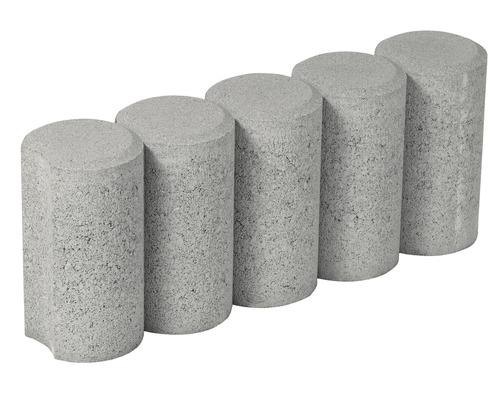 Bordura cilindrica alb crem 20x50 cm