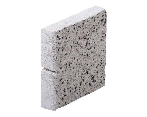 Placi soclu tip A alb-crem 19x1,85x4 cm