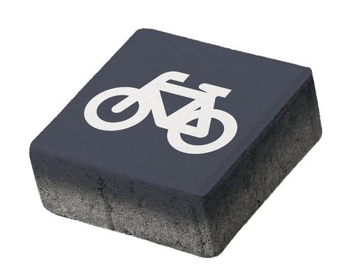 Pavaj patrat P5 acces biciclete 20x20x8 cm