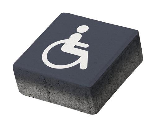 Pavaj patrat P5 acces persoane cu dizabilitati 20x20x8 cm