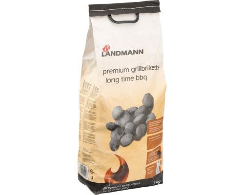 Brichete premium Landmann, lemn esenta tare, 7 kg
