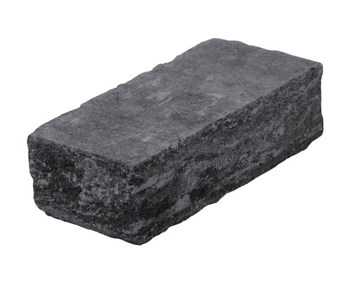 Bloc zid colt antracit 25x15x50 cm