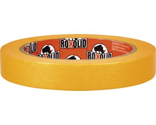 Banda de mascare ROXOLID Washi-Tape Fine Line Tape aurie 18 mm x 50 m