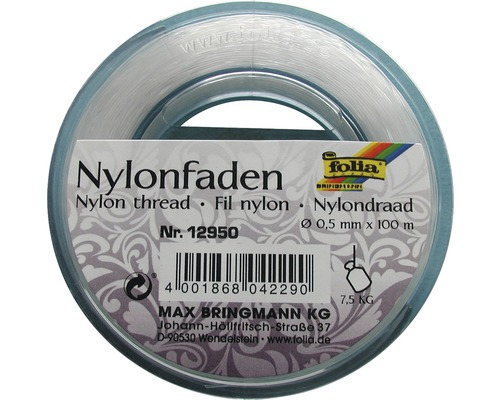 Fir de nylon 100m x 0,5mm