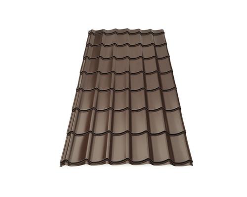 Tigla metalica Wetterbest Clasic 20 2590x1200x0,5 mm maro lucios