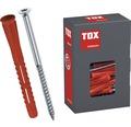Dibluri plastic cu surub Tox Constructor 10x135 mm, 25 bucati