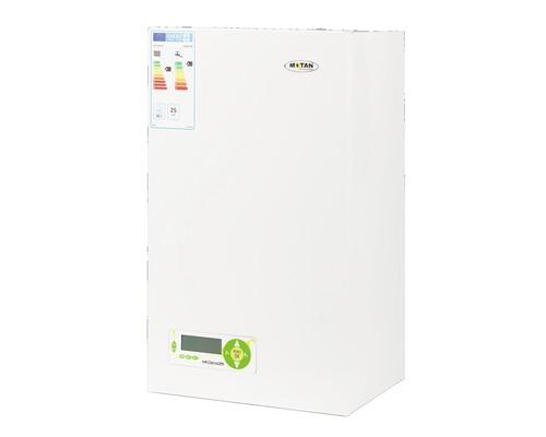 Centrală termică pe gaz cu condensare Motan MKDens 25, 25 kW, tiraj forțat, afișaj LCD, 2 schimbătoare căldură, incl. kit evacuare gaze arse & termostat wireless HT220S-SET