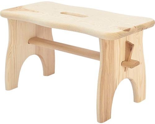 Scaun tip taburet max. 100kg, din lemn