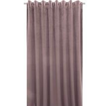 Draperie cu rejansă Velvet roz 140x280 cm