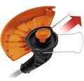 Trimmer pentru gazon pe baza de acumulator Worx WG157E9 B, 20 V, fara acumulator si incarcator incluse