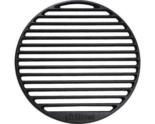 Placă de grătar tip grill Tenneker Halo, rotund, Ø 30 cm, fontă