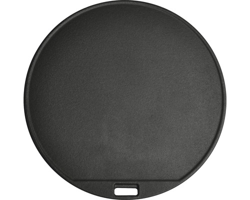 Placa de gratar cu platou inserat, Tenneker Halo, rotund, Ø 30 cm, fonta