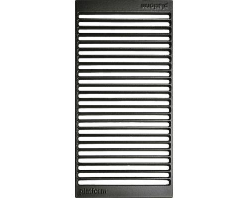 Placa de gratar tip grill Tenneker Halo, 48 x 24 cm, fonta