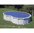 Prelata pentru acoperirea piscinei Thermo 640 x 390 cm, bazin octogonal