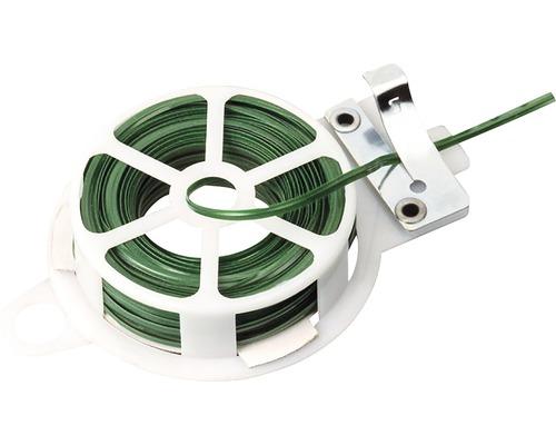 Sarma de legat Meister 20m, culoare verde, cu sistem de taiere