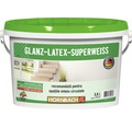 Vopsea pe baza de latex Glanzlatex Superweiss 2,5 l