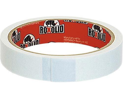 Banda montaj ROXOLID alba 19 mm x 1,5 m
