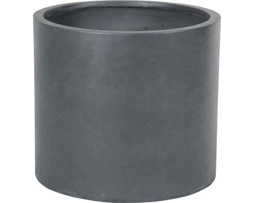 Ghiveci Lafiora Emil piatra artificiala Ø 55 cm H 49 cm gri inchis