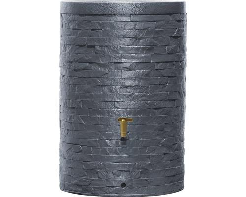 Butoi apa de ploaie ARONDO 250 l gri grafit
