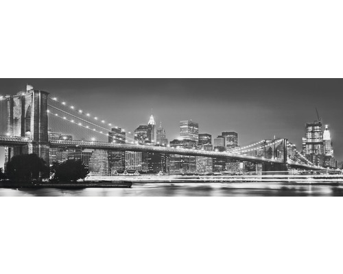 Fototapet hartie New York Brooklyn Bridge 368x127 cm