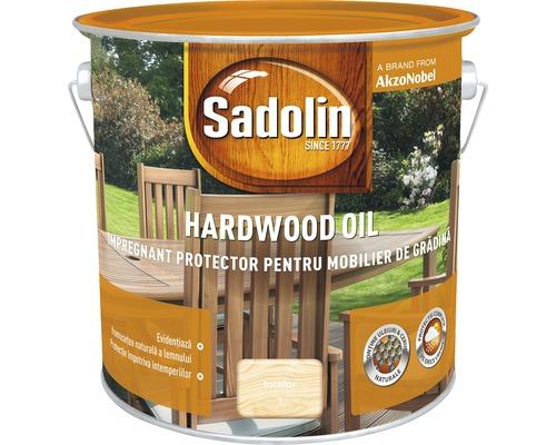 Impregnant pentru mobilierul de gradina Sadolin Hardwood Oil incolor 2,5 l