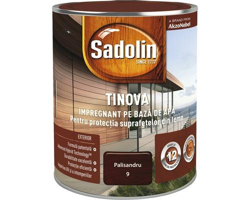 Impregnant pe bază de apă Sadolin Tinova, pentru exterior, palisandru 0,75 l