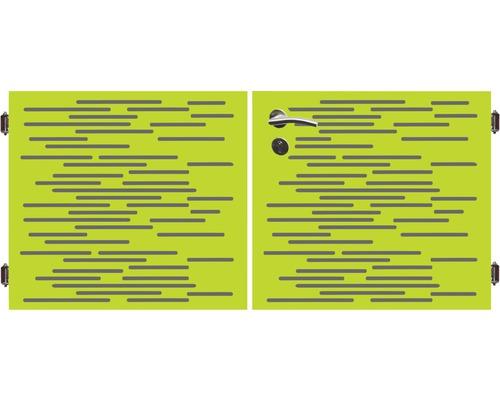 Poarta dubla 180 x 90 cm, Vienna, verde