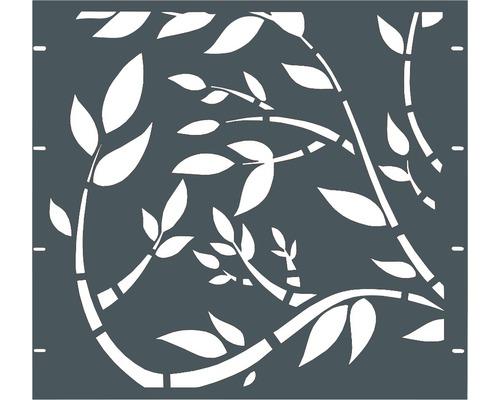 Element gard Floral 90 x 90 cm, antracit