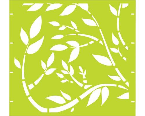 Element gard Floral 90 x 90 cm, verde